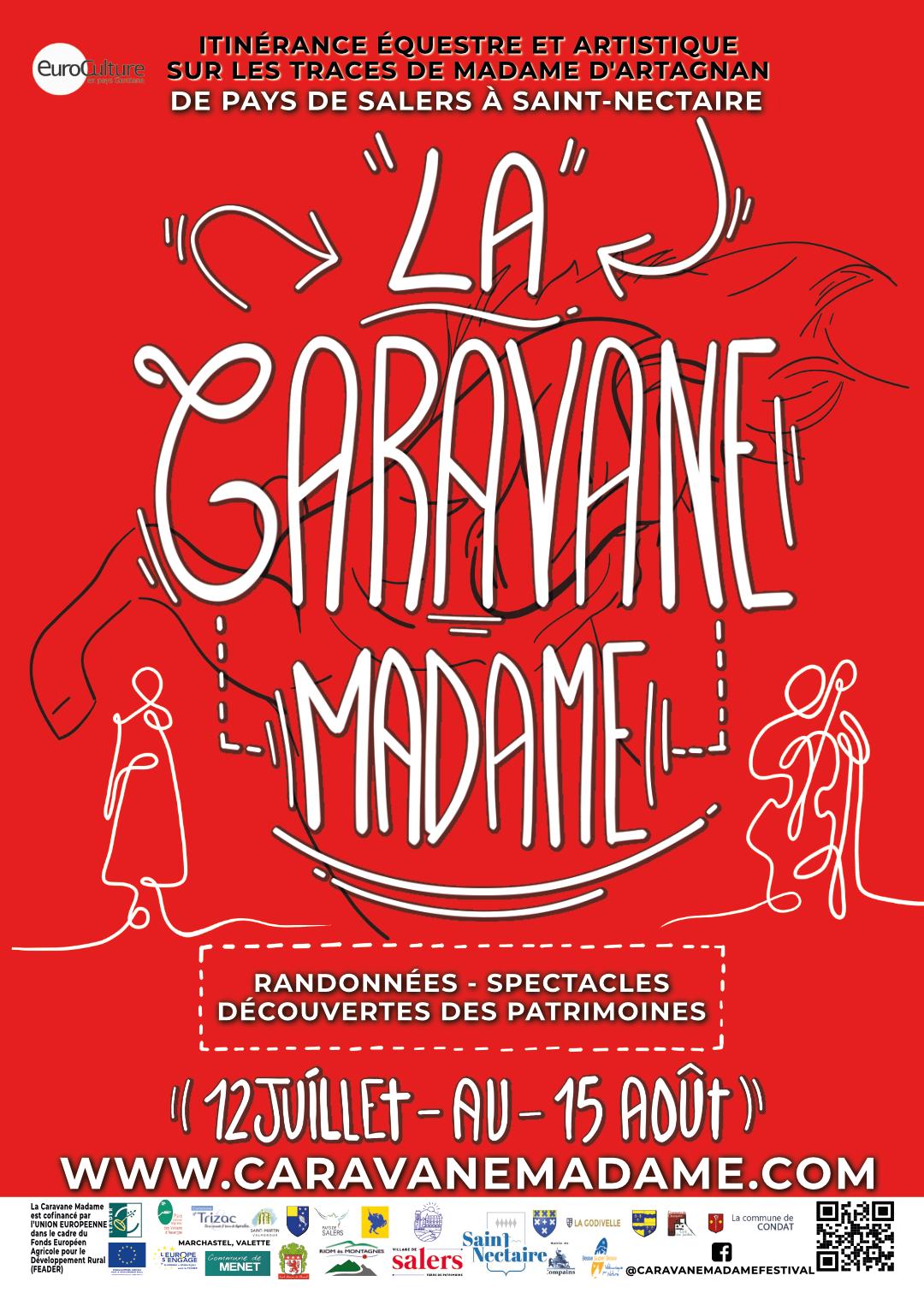 Affiche Caravane Madame